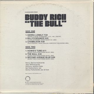 Buddy Rich / The Bull back