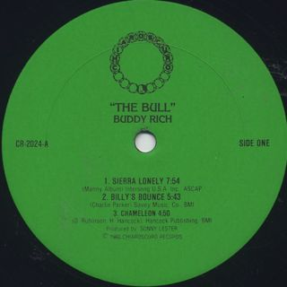 Buddy Rich / The Bull label