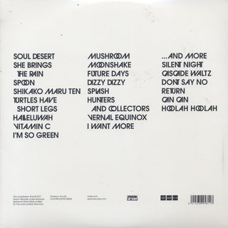 Can / The Singles (3LP) back