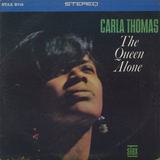 Carla Thomas / The Queen Alone front