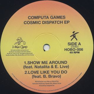 Computa Games / Cosmic Dispatch EP back