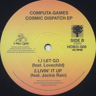 Computa Games / Cosmic Dispatch EP label