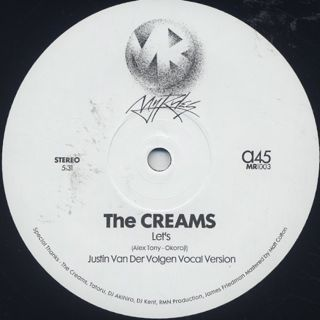 Creams / Let's (Justin Van Der Volgen Versions)