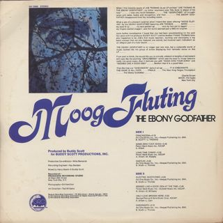Ebony Godfather / Moog Fluting back