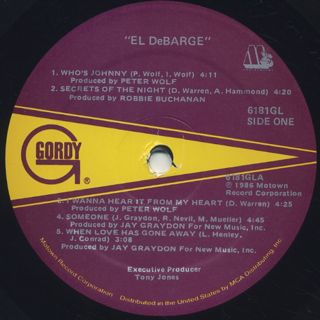 El DeBarge / S.T. label