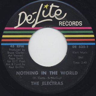 Electras / Another Man's Woman c/w Nothing In The World back