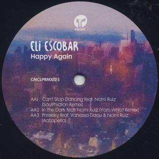 Eli Escobar / Happy Again back