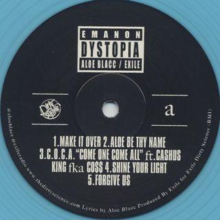 Emanon (Aloe Blacc & Exile) / Dystopia -LP+Flexi Disc- label
