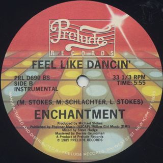 Enchantment / Feel Like Dancin' back