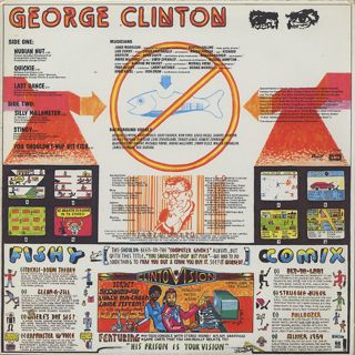 George Clinton / You Shouldn't-Nuf Bit Fish back