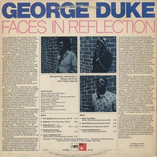 George Duke / Faces In Reflection back