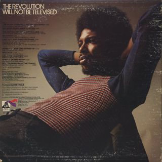 Gil Scott-Heron / The Revolution Will Not Be Televised back