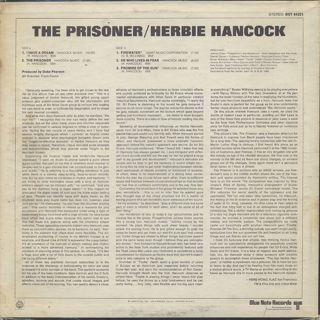 Herbie Hancock / The Prisoner back