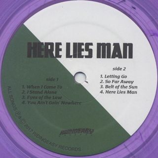 Here Lies Man / S.T. label