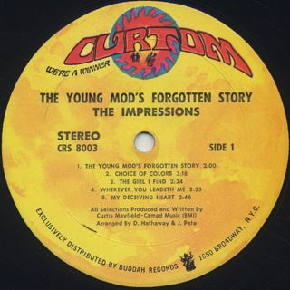 Impressions / The Young Mods' Forgotten Story label