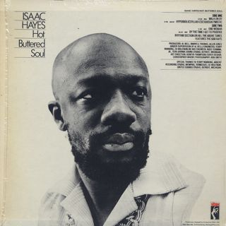 Isaac Hayes / Hot Buttered Soul back