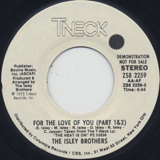 Isley Brothers / For The Love Of You