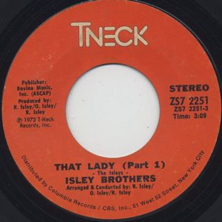 Isley Brothers / That Lady (45)