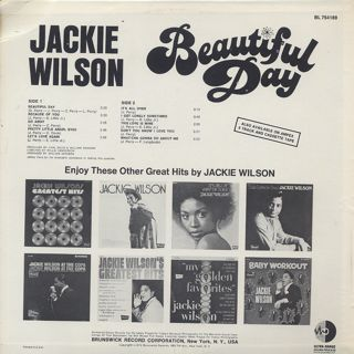 Jackie Wilson / Beautiful Day back