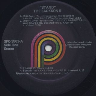 Jackson 5 / Stand label