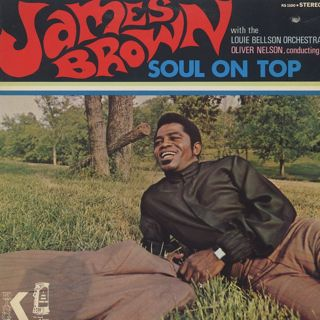 James Brown / Soul On Top front