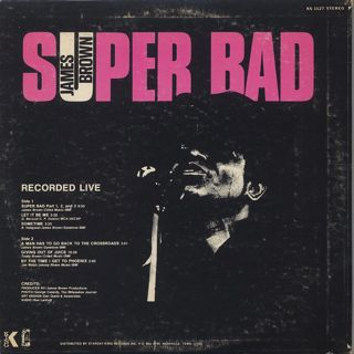 James Brown / Super Bad back