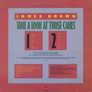 James Brown / Take A Look At Those Cakes back
