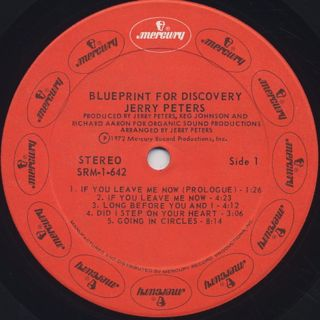 Jerry Peters / Blueprint For Discovery label