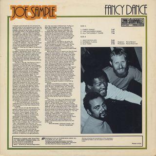 Joe Sample / Fancy Dance back