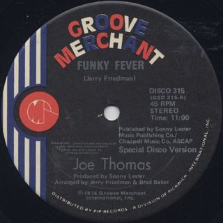 Joe Thomas / Funky Fever c/w Polarizer back