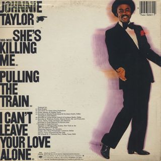 Johnnie Taylor / She's Killing Me back