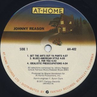 Johnny Reason / S.T. label