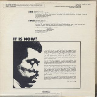 Jon Lucien / I Am Now back