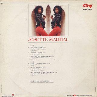 Josette Martial / S.T. back