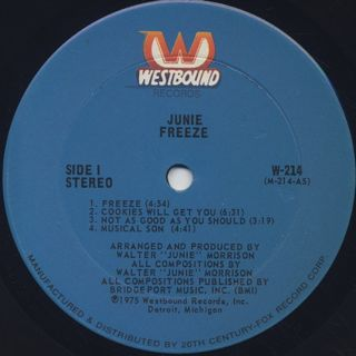 Junie / Freeze label