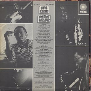King Curtis / Instant Groove back