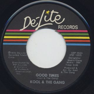 Kool & The Gang / Good Time c/w The Frog front