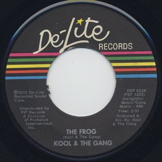 Kool & The Gang / Good Time c/w The Frog back