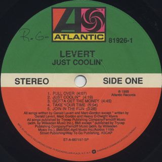 LeVert / Just Coolin' label