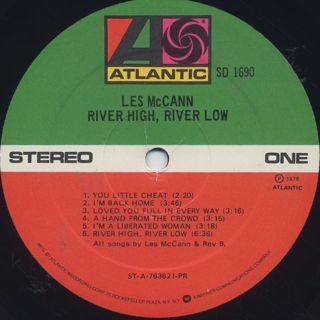 Les McCann / River High, River Low label