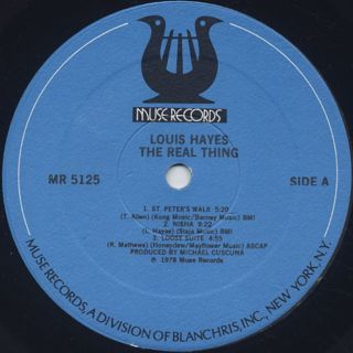 Louis Hayes / The Real Thing label