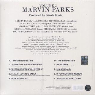 Marvin Parks / Marvin Parks back
