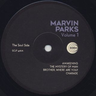 Marvin Parks / Marvin Parks label