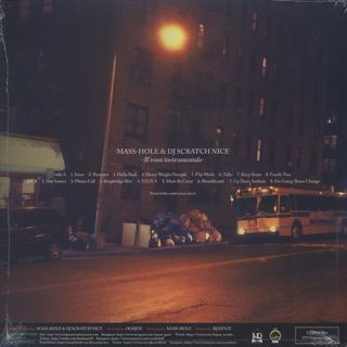 Mass-Hole & Scratch Nice / Bronx Instrumentals back