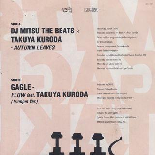 Mitsu The Beats x Takuya Kuroda / Autumn Leaves back