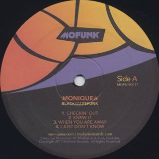 Moniquea / Blackwavefunk label