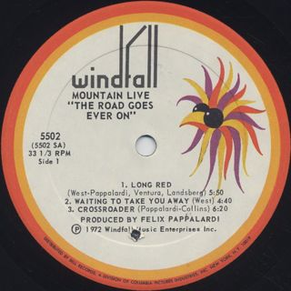 Mountain / Live label