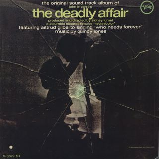 O.S.T.(Quincy Jones) / The Deadly Affair front