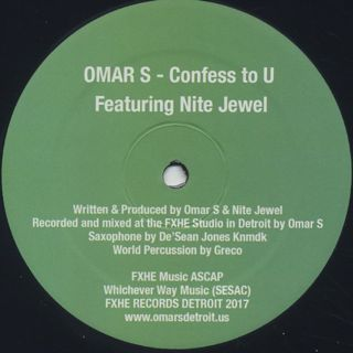 Omar-S / Confess To U label