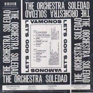 Orchestra Soledad / Vamonos Let's Go back